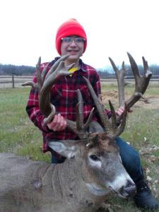 12-year old hunting